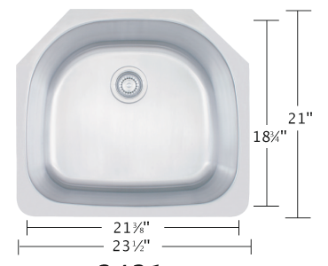 Eclipse Sinks : Eclipse Stainless Sinks Available @ The Marble Room The Marble Room